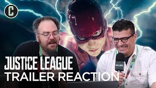 "Video Justice League Trailer Reaction ""Heroes"" Version - NYCC 2017 MP3, 3GP, MP4, WEBM, AVI, FLV Mei 2018"