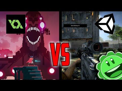 Game Maker Studio vs Unity 5