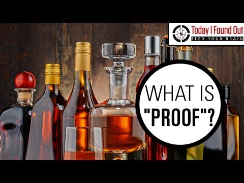 Why is Alcohol Content Referred to as Proof