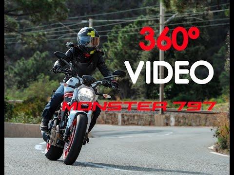 Ducati Monster 797 - vídeo 4k 360º