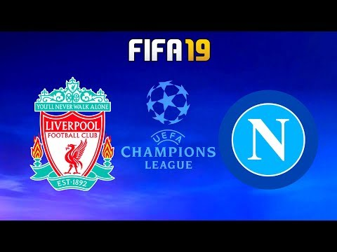 FIFA 19 | Liverpool vs Napoli - 2019/20 UEFA Champions League - Full Match & Gameplay