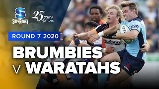 Brumbies v Waratahs Rd.7 2020 Super rugby video highlights | Super Rugby Video Highlights