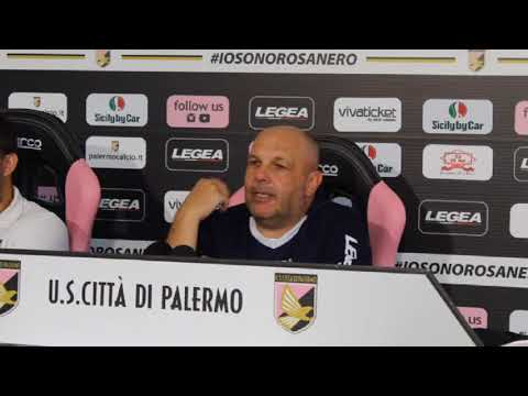 Palermo-Empoli, la vigilia di Tedino