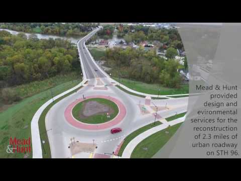 Aerial tour of completed Wrightstown project