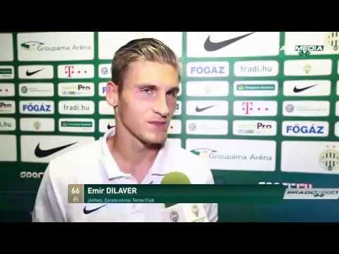 Emir Dilaver értékelése (Fradi-Dunaújváros 2-0)