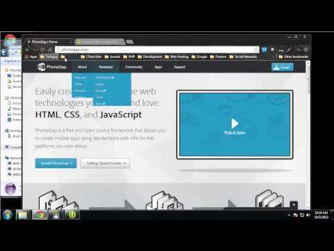 Learn to Build Mobile Apps from Scratch - Chapter 8 - Android SDK and Eclipse Setup