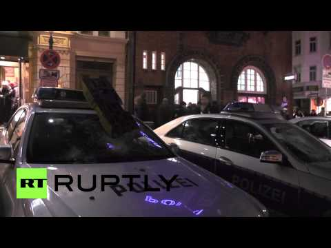 Germany: Rioters attack Hamburg police station