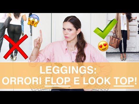 LEGGINGS come indossarli in look TOP.. e non cadere in questi ERRORI ORRIBILI!