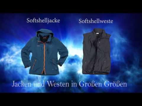 Jacken und Westen in Übergrößen für Herren