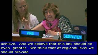 Mabel Bianco's Intervention at HLPF 2019: http://webtv.un.org