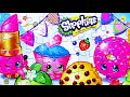 SHOPKINS Puzzle Game Rompecabezas De Lippy Lips, Kooky Cookie, Strawberry Kiss Kids Learning Toys