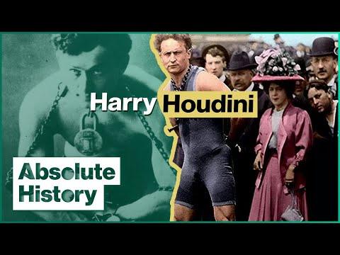 The Extravagant Life & Tragic Death Of Harry Houdini | The Magic Of Houdini | Absolute History