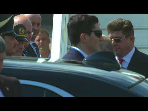 Raw: Putin Arrives Late In Finland For Summit