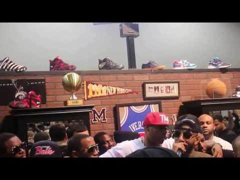 Reebok Classics Freestyle With Rick Ross, French Montana, & Others
