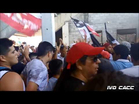 PREVIA LA BARRA DEL OESTE Y LA FAMOSA BANDA EN SAN MARTÍN - Chacarita vs Central Cordoba - La Famosa Banda de San Martin - Chacarita Juniors