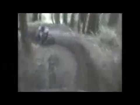 超強高速單車落山,心臟病患者請勿觀賞!