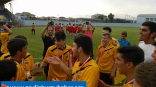 Zeytinburnu Damlaspor U 16' da Türkiye Şampiyonu Oldu