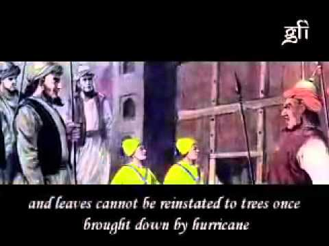 Sahibzada - Video Choreography depicting the scene when Mughal Sipahi came to take Sahibzadas to court of Wazir Khan for the last time before their martyrdom. Content is...