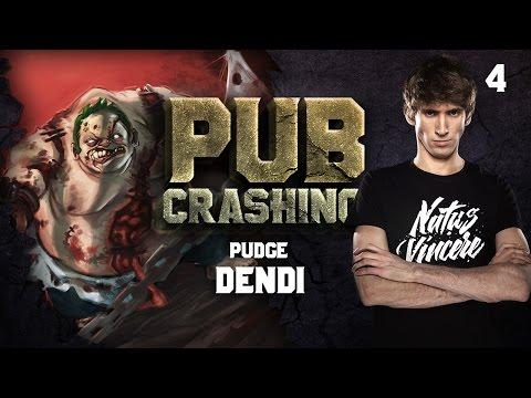 Pubs Crashing: Dendi on Pudge vol.4