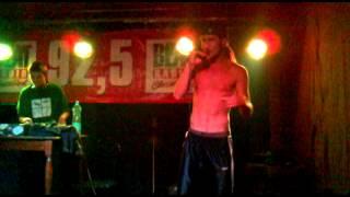 Video Dabo Jamal - Muzika (live in RockClub Ježek) Jihlava