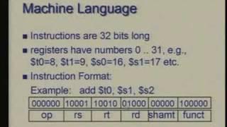 Lecture -3 Instruction Set Architecture - I