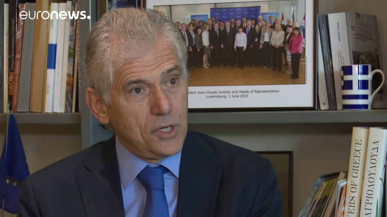 Συνέντευξη του Επικεφαλής της Αντιπροσωπείας της Ε.Ε. στην Ελλάδα κ. Πάνου Καρβούνη στο Euronews