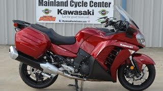 5. $16,199:  2014 Kawasaki Concours 14 ABS Candy Cardinal Red   FOR SALE!