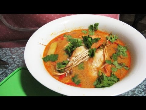 Creamy Tom Yam Kung (Thai Hot And Sour Soup With Shrimp) Recipes ...
