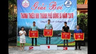 Phường Vàng Danh Nhất toàn đoàn Giải bơi thanh thiếu nhi thành phố năm 2019