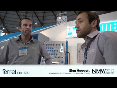 NMW 2012 - Ferret.com.au interviews Boscotek Industrial Stor