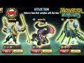 Monster Legends Equipo Jasastur shakti level 130 evaranae review combat