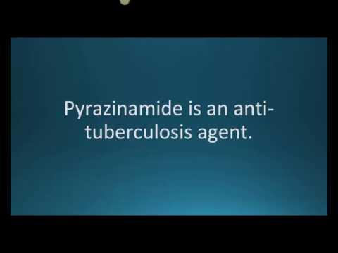 How to pronounce pyrazinamide (PZA) (Memorizing Pharmacology Flashcard)