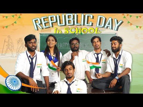 REPUBLIC DAY in School  School Life  Veyilon Entertainment