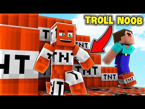 TROLL NOOB BẰNG TNT (Minecraft Trốn Tìm) - Thời lượng: 20:21.