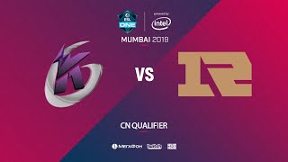 Keen Gaming vs RNG, ESL One Mumbai CN Quals, bo3, game 1 [Adekvat & Lost]