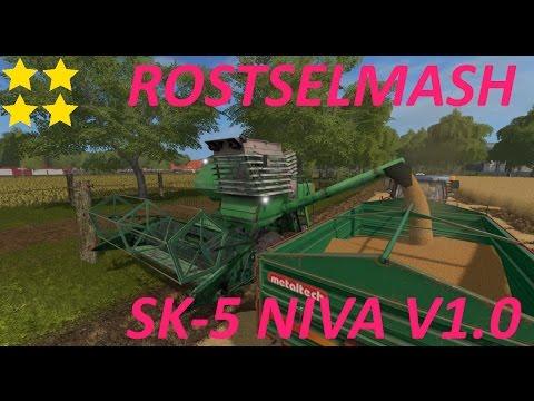 Rostselmash SK-5 Niva v1.0