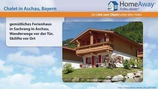 Aschau im Chiemgau Germany  city images : Chiemgau/Chiemsee: gemütliches Ferienhaus in Sachrang in Aschau - FeWo-direkt.de Video