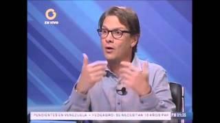 Debate económico. Lorenzo Mendoza en Vladimir a la 1