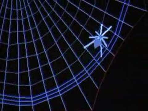 Theseus die virtuelle Spinne - Spinnen: Wie sie sich bewegen und spinnen (3/5)