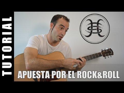 Como tocar Apuesta al Rock and Roll – Bunbury –  – guitarra FACIL tutorial acordes como tocar