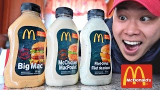 Video FOUND MCDONALD'S SECRET SAUCE BOTTLES!!! (LIFE HACKS YOU NEED TO TRY) MP3, 3GP, MP4, WEBM, AVI, FLV Oktober 2018