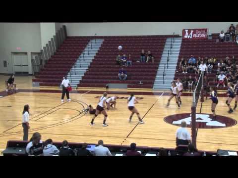 Alma College Volleyball vs Albion College - October 12, 2011
