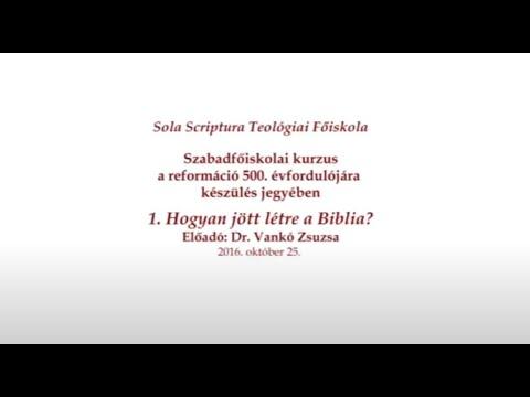 Hogyan jött létre a Biblia?