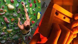 Progress ! Crushing The 45er + New Hangboard Gadget | Training Vlog by Mani the Monkey
