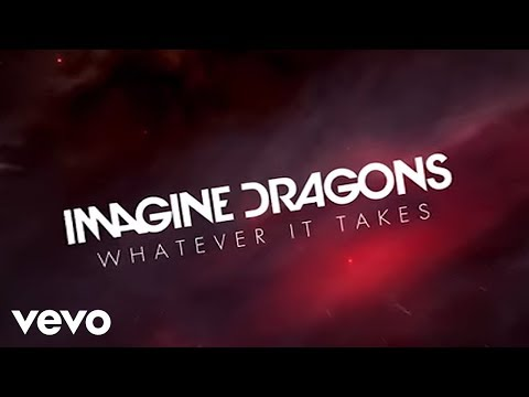 Imagine Dragons - Whatever It Takes (360 Version/Lyric Vide\u200bo) (видео)