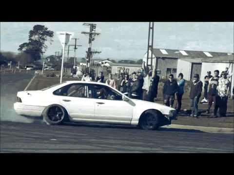 South Taranaki Car Club Drifting