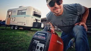 8. Can a Honda Generator Run The AC? âš¡ RV Living & Van Life // Honda EU2200 & EU2000 Inverter Generator