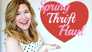 Spring Thrift Haul