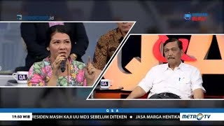 Video Luhut Jawab Kritik Melanie Subono soal Reklamasi Teluk Jakarta MP3, 3GP, MP4, WEBM, AVI, FLV Maret 2018