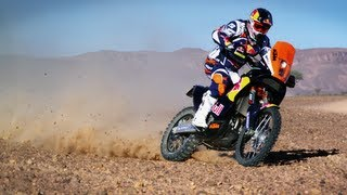 Check out more moto action here http://win.gs/MqRtU7 Cyril Despres prepares for Dakar 2013 - will he be the one to win the fight ...